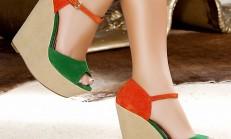 Yeni Sezon Bayan Dolgu Topuk Ayakkabı Modelleri