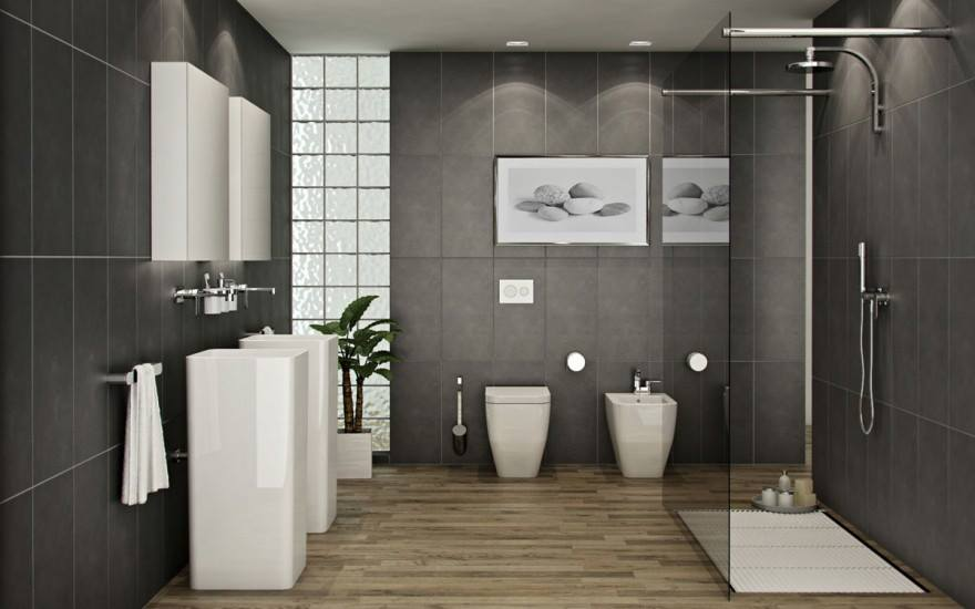 Modern bathroom Stock Photos and Royalty Free Images