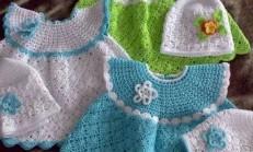 Harika Bebek Elbise Örgüleri
