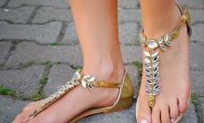 2014 Yılının Modern Parmak Arası Ayakkabı Modelleri