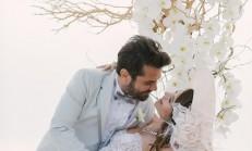 Ünlü çift Beren Saat ile Kenan Doğulu Amerika'da evlendi..