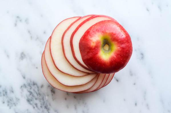 elmalı atıştırmalık