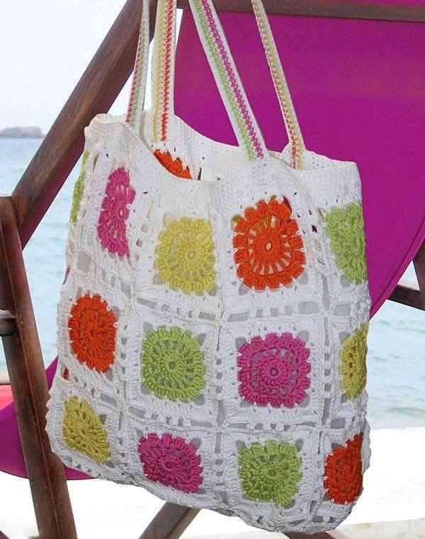 1436033700. Уроки вязания крючком - АЗЫ и СЕКРЕТЫ. #crochetstory_вдохновение Пляжные сумки крючком