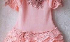 Örgü Çocuk ve Bebek Elbiseleri