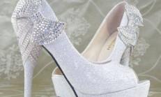 Birbirinden Şık Gelin Ayakkabıları