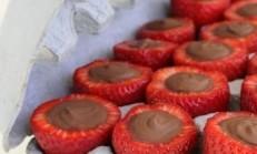Atıştırmalık Çikolatalı Çilek Yapımı
