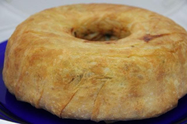 Kek Kalıbında Çıtır Yufka Böreği Tarifi