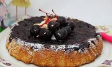 Kirazlı Damla Sakızlı Kek Tarifi