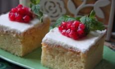Kremalı Islak Kek Tarifi