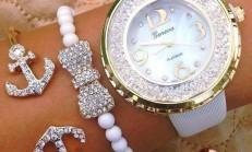 Trend takı Aksesuarlı Saat Modelleri