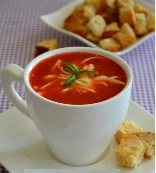 közlenmiş domates çorbası oktay usta