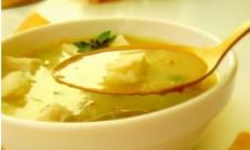 Safranlı Tavuk Çorbası Tarifi