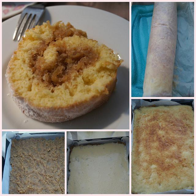 cevizli elmalı rulo pasta tarifi