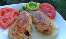 Mantarlı Tavuk Sarma Tarifi