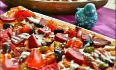 Yufka Pizzası Tarifi