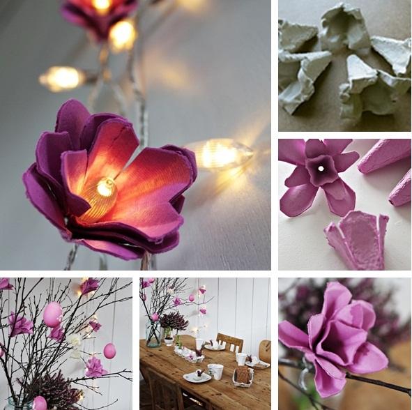 Işıklı Çiçek Demeti