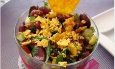 Cipsli Meksika Fasulye Salatası Tarifi