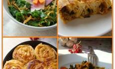 Gelincik Otlu Yufka Böreği ve Salatası Tarifi