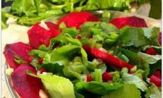 Kırmızı Pancarlı Su Teresi Salatası Tarifi