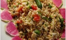Kırmızı Turplu Şehriye Salatası Tarifi