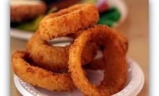 Kızarmış Soğan Halkaları Onion Rings
