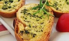 Kahvaltılık Otlu Ekmek Dilimleri Tarifi