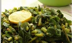 Limonlu Turp Otu Salatası Tarifi