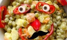 Mayonezli Rus Salatası Tarifi