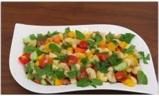 Naneli Diyet Meyve Salatası Tarifi