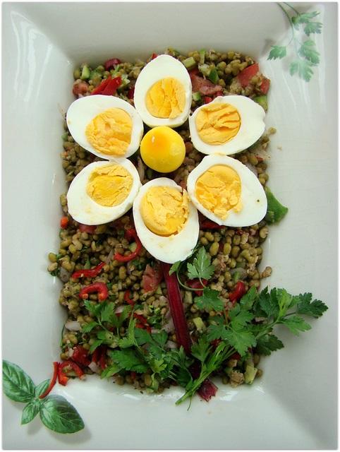 pancarlı maş fasulye salatası