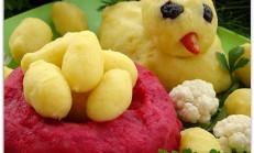 Sebzeden Civciv Salatası Tarifi