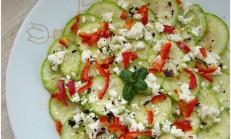 Tulum Peynirli Kabak Salatası Tarifi