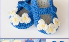Örgü Şirin Mavi Babetler
