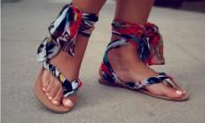 Parmak Arası Terliklerimizi Şık Sandalete Dönüştürüyoruz