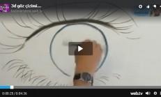 3d Göz Çizimi