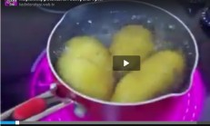 Haşlanmış patatesleri saniyeler içinde nasıl soyabilirsiniz