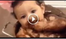 Bugünkü Tatlımız Çikolatalı Bebek :)