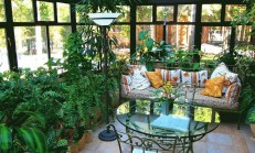 Özel Tasarlanmış Harika Kış Bahçe Modelleri