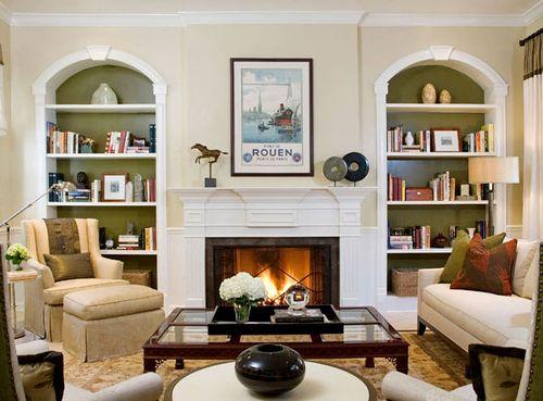 Kitapl k duvar ni modelleri - Salon colonial design ...