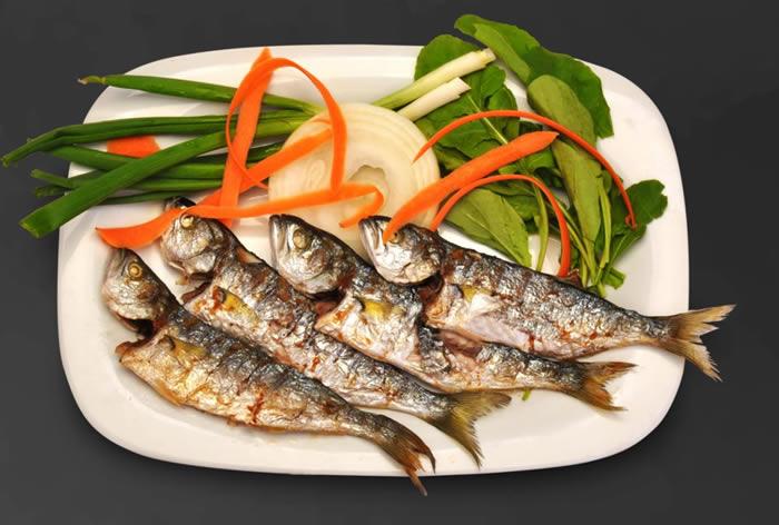 Limonlu Izgara Balık