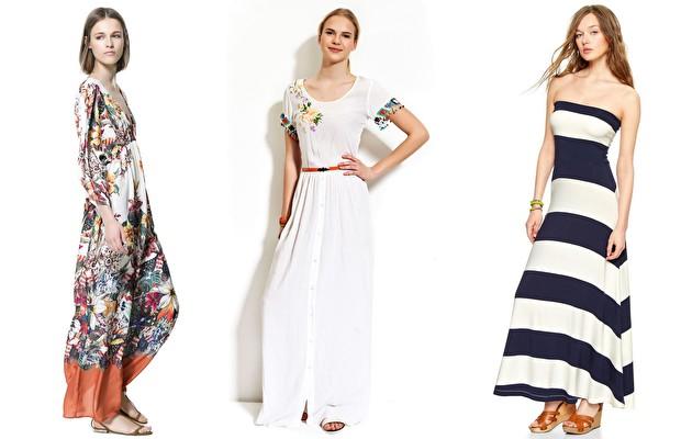 Iki Renkli Uzun Elbise Modelleri Siyah Beyaz Iki Renk Elbise