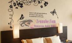 Dekoratif Duvar Sticker Modelleri